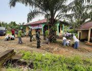Sambut HUT TNI Ke – 74, Kodim Subulussalam Laksanakan Karya Bhakti