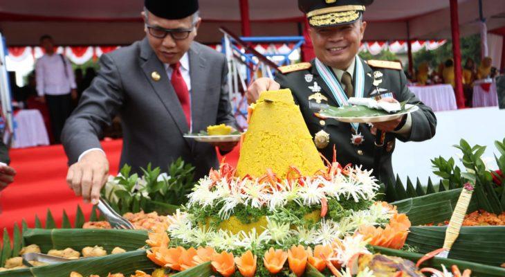 Kodam IM Peringati HUT TNI ke 74 di Kota Lhokseumawe