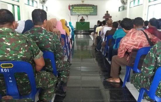 Dandim Pidie Gelar Silaturahmi dengan Orang Tua Calon prajurit TNI AD