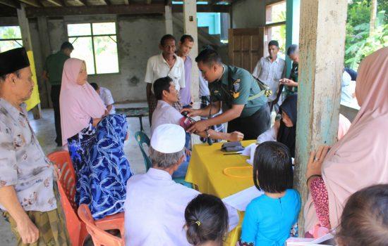 Karya Bakti Sosial TNI, Kodim 0107/Aceh Selatan Laksanakan Pelayanan KB Kesehatan