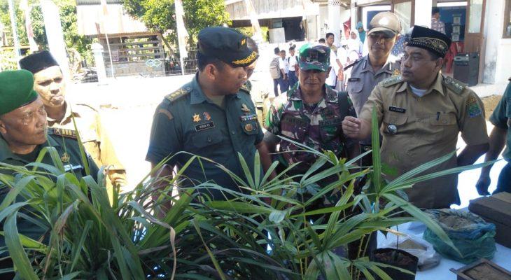 Kodam IM Lakukan Penilaian Desa Mandiri  di Kodim 0114/Aceh Jaya
