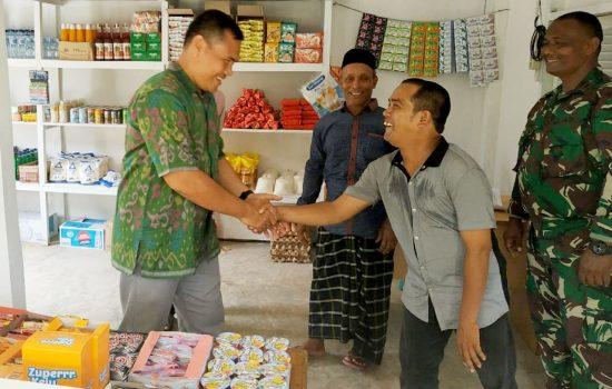 Dandim 0101/BS Berikan Bantuan UMKM bagi Kaum Disabilitas