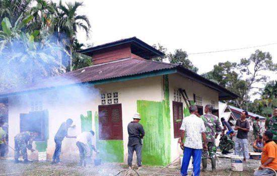 Kodim 0105/Aceh Barat Melaksanakan Serter Dalam Rangka HUT ke 63 Kodam IM