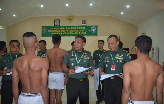 362 Putra Asal Aceh Dinyatakan Lulus Pantukhir Cata PK Gel II T.a 2019