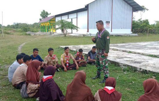 Serda Arief Latih Pramuka SMKN 1 Teunom