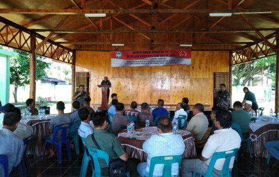 Kodim Aceh Jaya Gelar Silaturahmi dengan KBT