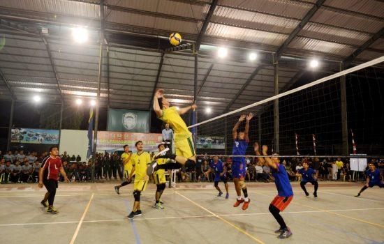 Kajasdam Iskandar Muda Buka Turnamen Bola Voli
