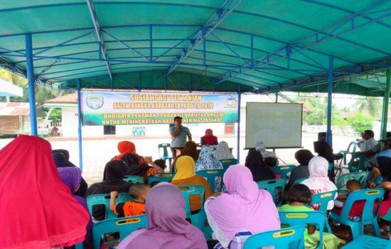 Dandim 0101/BS Gelar Sosialisasi Pertanian kepada Petani