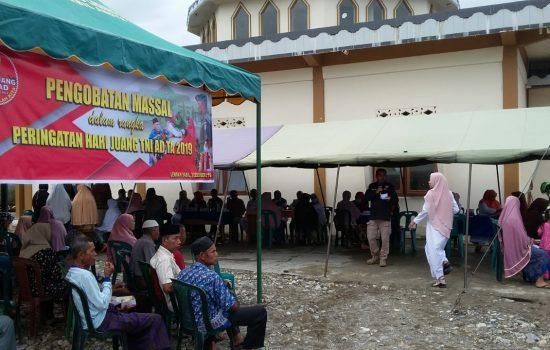 Peringati Hari Juang TNI AD, Kodim 0110/Abdya Adakan Pengobatan Masal