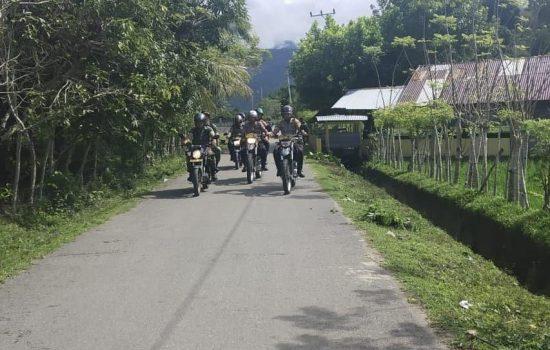 Berikan Rasa Aman bagi Warga, TNI – Polri Patroli Bersama