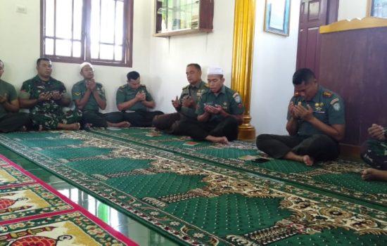 Dandim 0109/Asing Gelar Yasinan Dan Doa Bersama