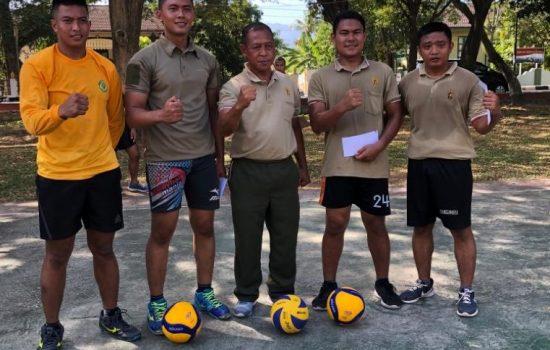Kajasdam Iskandar Muda Adakan Pertandingan Voly Ball