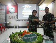 Syukuran Peringatan HUT Ke 69 Penerangan TNI AD Di Laksanakan Di MC