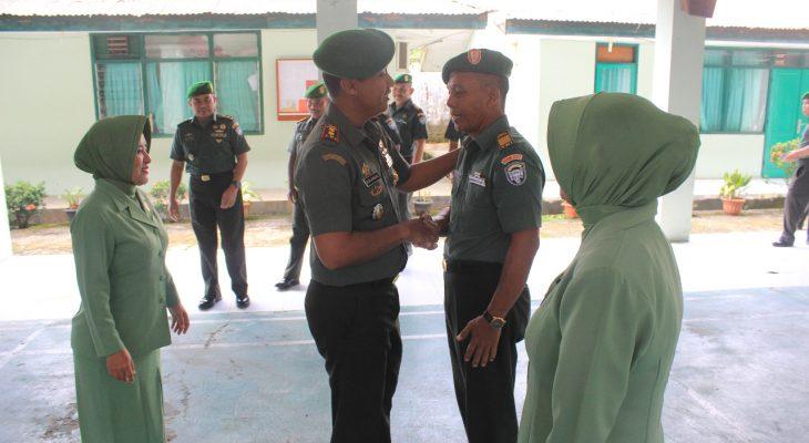 Dandim 0107 Aceh Selatan Pimpin Korp Raport Pindah Satuan