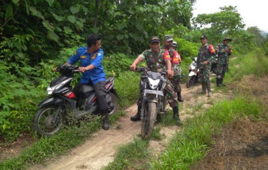 Cegah Karhutla , Babinsa Kodim 0107 Aceh Selatan Tingkatkan Kegiatan Patroli dan Sosialisasi