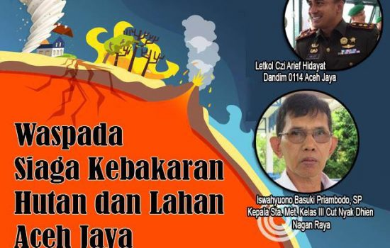 Kodim 0114 Aceh Jaya Ajak Peran Aktif Masyarakat dalam Pencegahan Karhutla