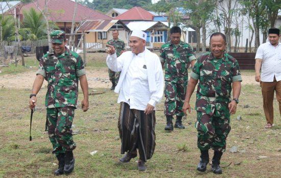 Dandim Aceh Jaya Kunjungi Pesantren Darul Abrar