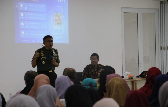 Danrem 012/TU Hadiri Kuliah Umum Tenaga Pengajar Bidang Geografis Lemhanas RI.