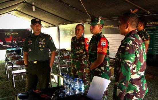 Aster Kodam IM Kunjungi Lokasi TMMD di Aceh Timur