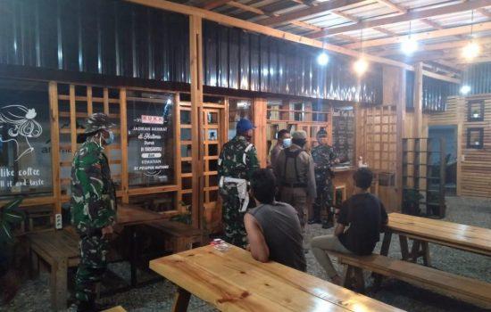 Patroli Gabungan Tertibkan Tempat Keramaian di Wilayah Kabupaten Gayo Lues