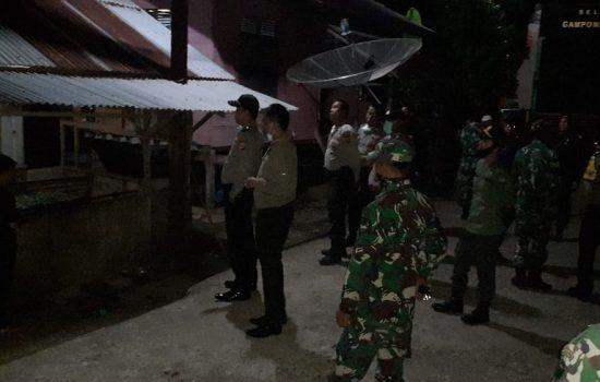 Pemberlakuan Jam Malam, Kodim dan Polres Aceh Jaya Rutin Patroli Gabungan