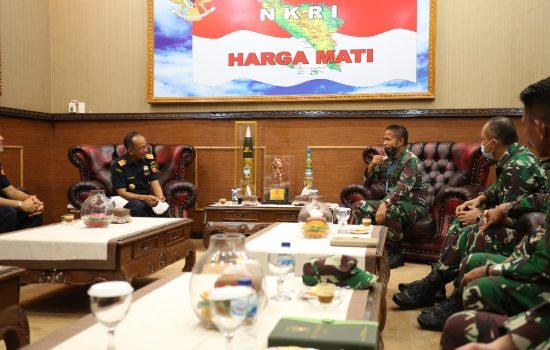 Pangdam IM Terima Audiensi Kepala Kantor Wilayah Bea Cukai Aceh