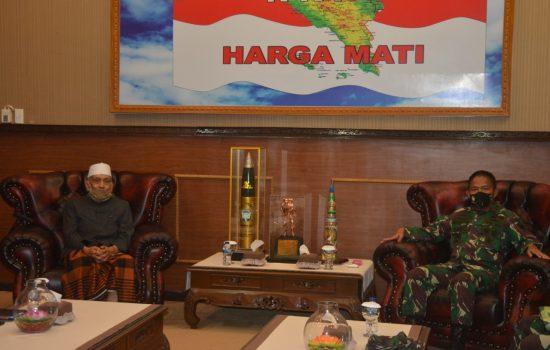 Pangdam IM Terima Audensi Ketua MPU Aceh