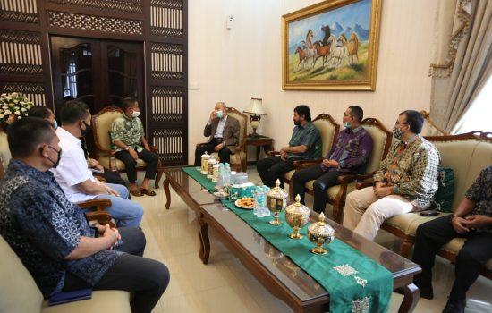 Silaturrahmi Wali Nanggroe Aceh Kepada Pangdang IM