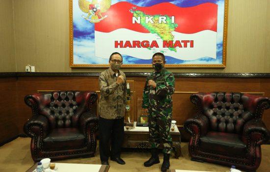 Pangdam IM Terima Audensi dari Kepala Stasiun Lembaga LPP RRI Banda Aceh