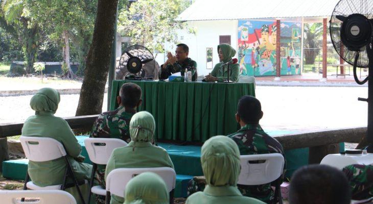 Danrem 012/TU Memberikan Pengarahan kepada prajurit dan Persit Korem 012/TU