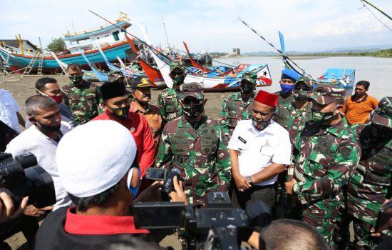 Pangdam IM dan Bupati Pidie Kunjungi Kuala Tari