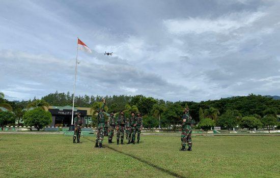 Topdam IM Melaksanakan Latihan Pemotretan Udara Dengan Mengunakan Pesawat Tanpa Awak (UAV)