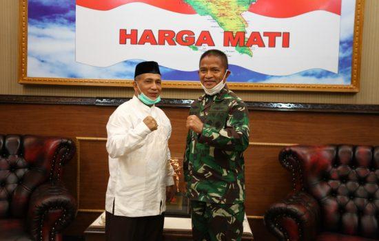 Pangdam IM Terima Audiensi Ketua Harian Komite Olah raga Nasional Indonesia (KONI) Aceh
