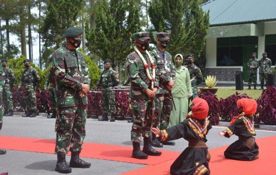 Pangdam IM Kunjungan Kerja ke Aceh Tengah