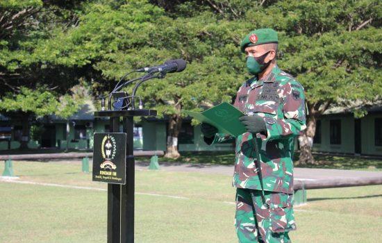 Pembukaan Pendidikan Pembina Desa Abituren Pendidikan Kejuruan Bintara TNI AD TA 2019