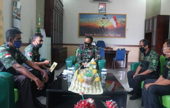 Dandim 0105/Abar Berikan Masukan Kepada DPC Hipakad Aceh Barat