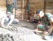 Kodim 0106/Aceh Tengah Rampungkan 75 Persen Perehaban RTLH