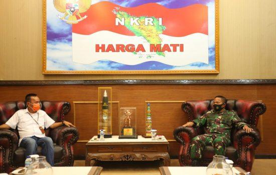 Tingkatkan Kerja Sama, Pangdam IM Terima Kunjungan Pimpinan BRI Syariah Wilayah Aceh