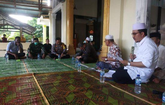 Dandim 0110/Abdya dan Forkopimda Silaturahmi ke Ulama Khasrismatik Aceh