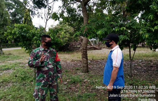 Himbau Warga Disiplin Terapkan Protkes, Kopda Edi Sinulingga Rutin Keliling Desa Binaan