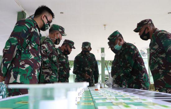 Cegah Penyalahgunaan Narkoba, Personel TNI di Sidak Tes Urine, Begini Hasilnya