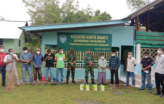 Bintaldam IM Melaksanakan Karya Bakti Di Lembaga Pendidikan Islam DayahTahzibulfata