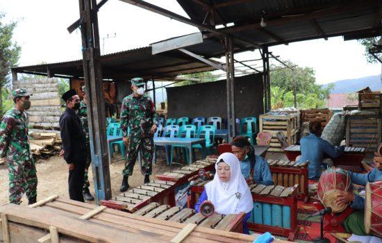 Dandim 0106/Ateng Kunjungi tempat Karawitan Atu lintang