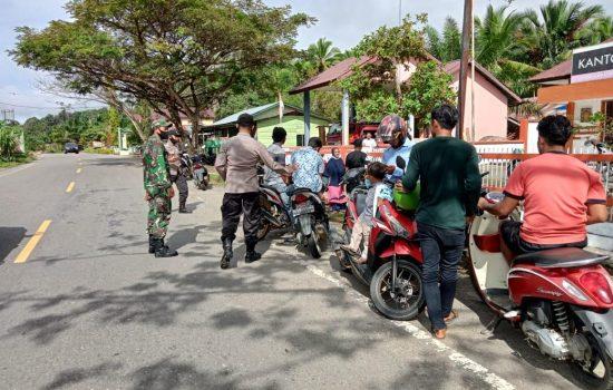 Pandemi Covid-19 Belum Berakhir, TNI/Polri Tak Lelah Ingatkan Warga Patuhi Protkes