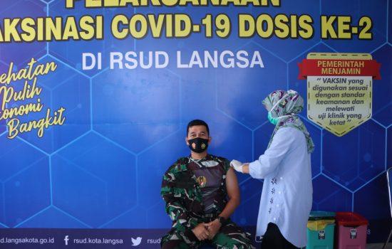 Dandim: Vaksin Sinovac Tidak Ada Efek Negatif