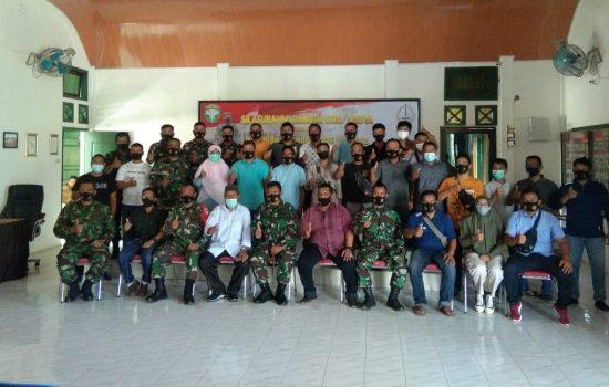 Silaturahmi Dandim 0110/Abdya Bersama Insan Media Pers Wilayah Aceh Barat Daya