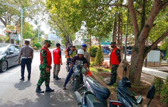 Tim Peucrok Jaring 11 Pelanggar Protokol Kesehatan di Kota Langsa
