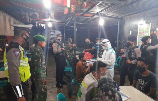 TNI-Polri dan Aparat Pemerintah Laksanakan Patroli Gabungan