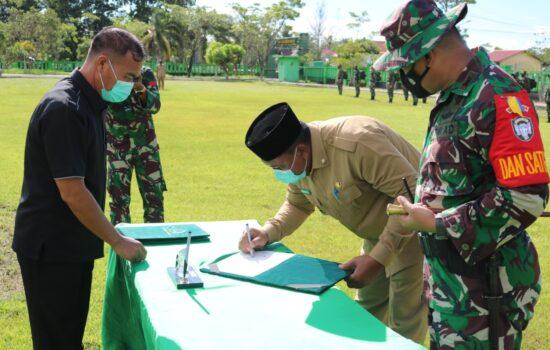 Kapendam IM: Program TMMD ke-111 Kodim 0109/Aceh Singkil Resmi Dibuka