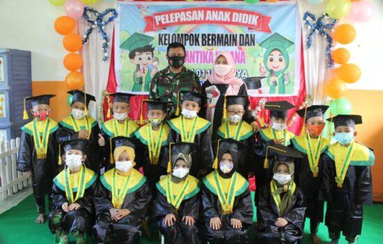 Dandim 0110/Abdya Hadiri Acara Wisuda Murid-murid TK Cantika Kirana